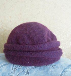 шапка ангорка р 56-58