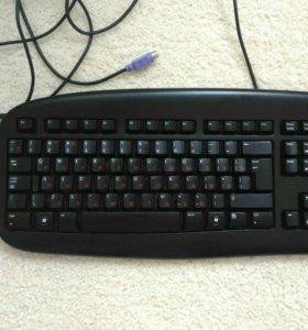 Клавиатура и мышь логитеч