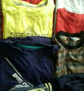 Одежда для мальчика пакетом рост 140-146