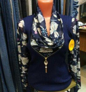 Блуза женская, размер 46-48