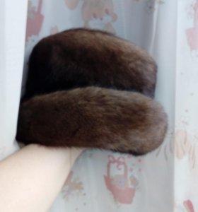 Шапка шляпа норка