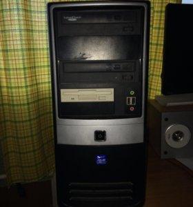 Корпус для компьютера плюс внутренности