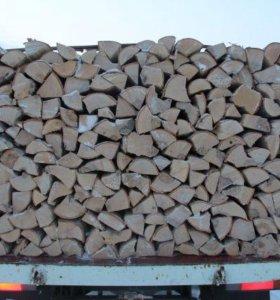 Доставка колотых дров 5м3