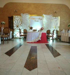 Оформление свадеб студией Эль-Декор.