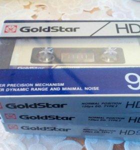 Аудиокассеты новые в упаковке