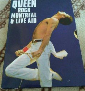 Queen rock Montreal & live AID 2DVD + bonus 2 DVD