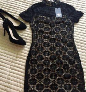 Кружевное вечернее платье Iska London