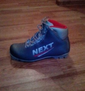 Лыжи+ботинки 38р