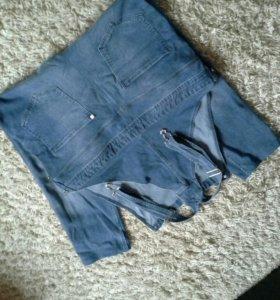 Комбинезон джинсовый р 52-54