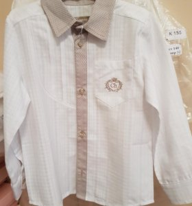 Новые рубашки на мальчика Choupette