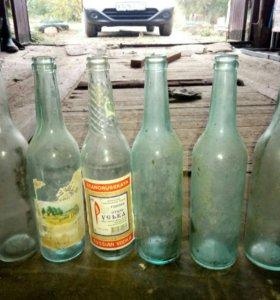 Советские бутылки