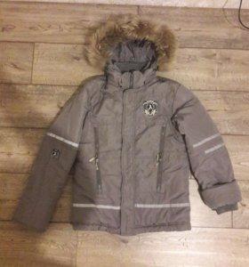 Куртка зимняя на 10- 11лет