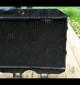 UAZ радиатор новый