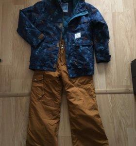 Куртка и брюки для сноубордистов и лыжников