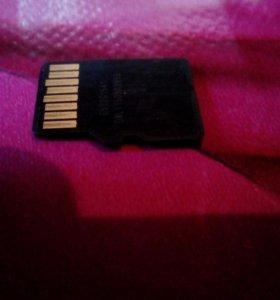 Флешь карта на 32GB