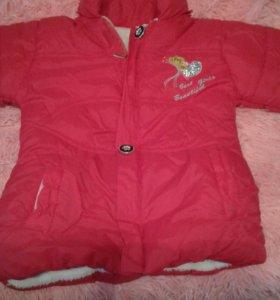 Куртка холодная осень,тёплая зима