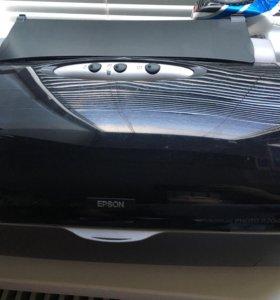 Фото принтер ( цветной) , Epson R200новый