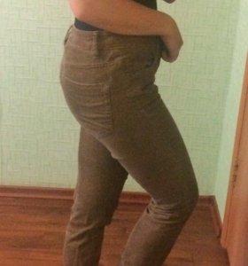 Брюки джинсы вельвет