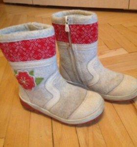 Детская зимняя обувь (валенки)