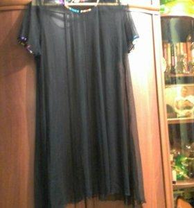 Накидка на платье. Капрон.( сетка).