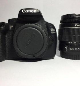 Canon EOS 1200D + Canon EF-s 18-55mm