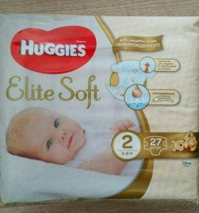 Подгузники Huggies Elite Soft 2, 3-6 кг