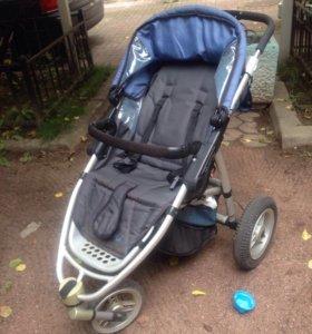 Quinny Speedi+бампер надувные колёса (танк)