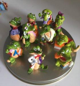 Коллекция киндер крокодильчик