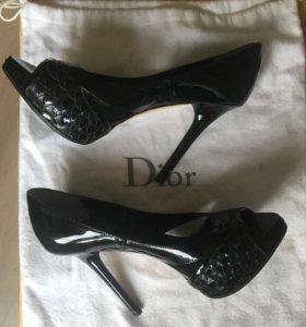 Туфли Dior 35,5р оригинал.
