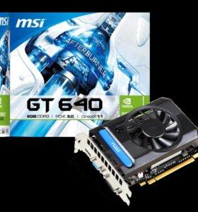Видеокарта MSI GeForce® GT 640 2Гб DDR3