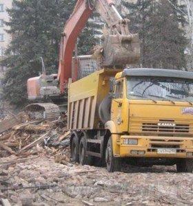 Вывоз строительного мусора и веток