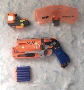 """Игрушечный пистолет """" Nerf HammerShot """""""