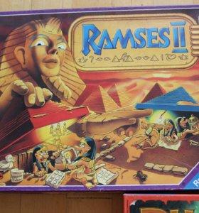 Настольные игры RamsesII, Labyrinth,Phantasia