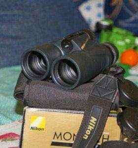 Бинокль Nikon monarch 10*42 dcf