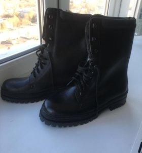 Ботинки берцы новые зима