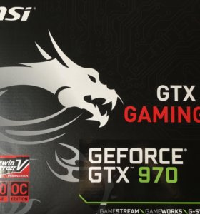 MSI GTX 970 4G