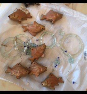 Керамические Рыбки