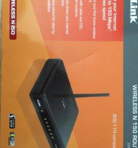 Роутер D-link wireless N 150 DIR-300