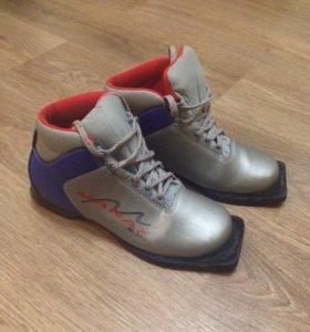 Лыжные ботинки р.38