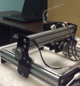 Чпу станок лазерный 10w 25x40 USB