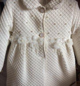 Комплект платье+ пальто