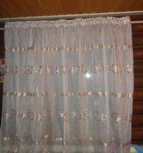 шторы + тюль