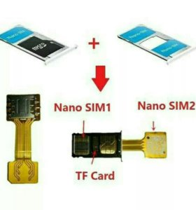 Адаптер NANO сим карты XIAOMI. MEIZU.