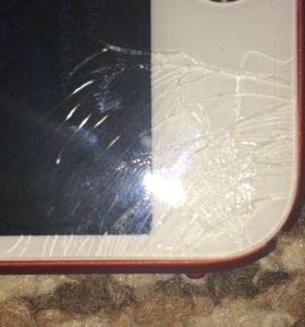 iPhone 6 64 (разбитый и без отпечатка)