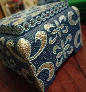 Шкатулки с росписью ручной работы