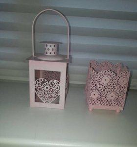 Декоративные фонарики