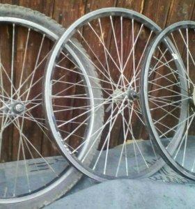 Велосипедные обода в отличном состоянии