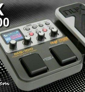 Гитарный процессор эффектов NUX MG 100