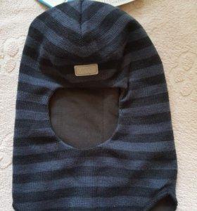 Новая шапка-шлем 50-52см