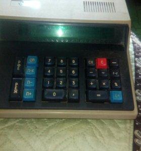 Электроника КА 59.калькулятор 1989 год выпуска